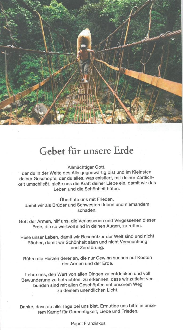 GEBET-ERDE